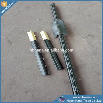 Metal T Post best selling steel metal t bar fence post/ t post galvanized