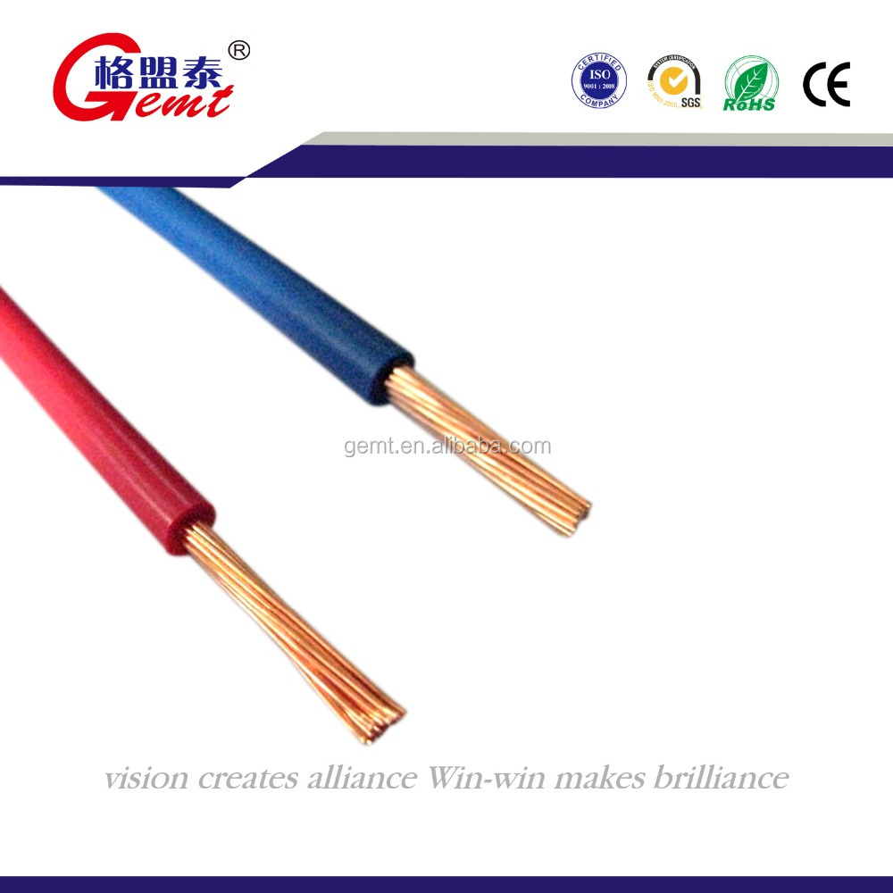 China Solid Copper Wire Prices Wholesale Alibaba Pvc Insulated Awg Size Tw Thwn Thhn Electrical Cablewire