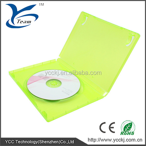 Wholesale compact disk case for xbox 360 compact disk box for xbox360 with high quality