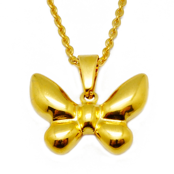 Olivia Personalized Gold Jewellery Dropshipping Butterfly Pendant Women  Fashion Accessory Necklace - Buy Fashion Accessory Necklace,Gold