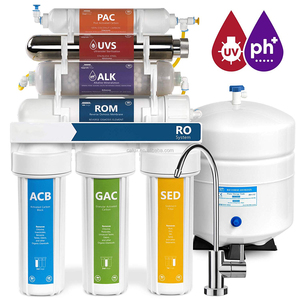 7 stages RO System Water Purifier with UV sterilizer reverse osmosis