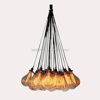 Industrial lighting vintage multi lamp holder pendant hanging industrial lighting vintage multi lamp holder pendant hanging lights for home decor aloadofball Images
