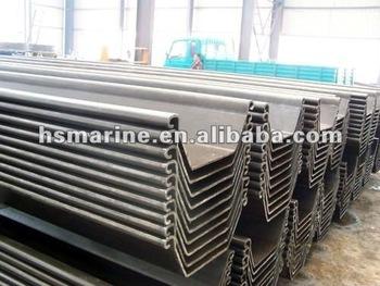 Cold-rolled Wru Steel Sheet Pile