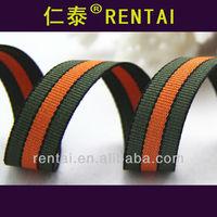 toys packing haberdashery ribbon rainbow flat weaving ribbon yiwu satin stripe ribbon