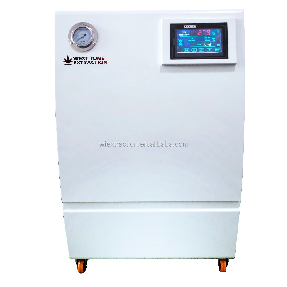 China WTCP-2020 2800W (at 0C) 20l rotary evaporator circulation bath chiller with water centrifigual bath