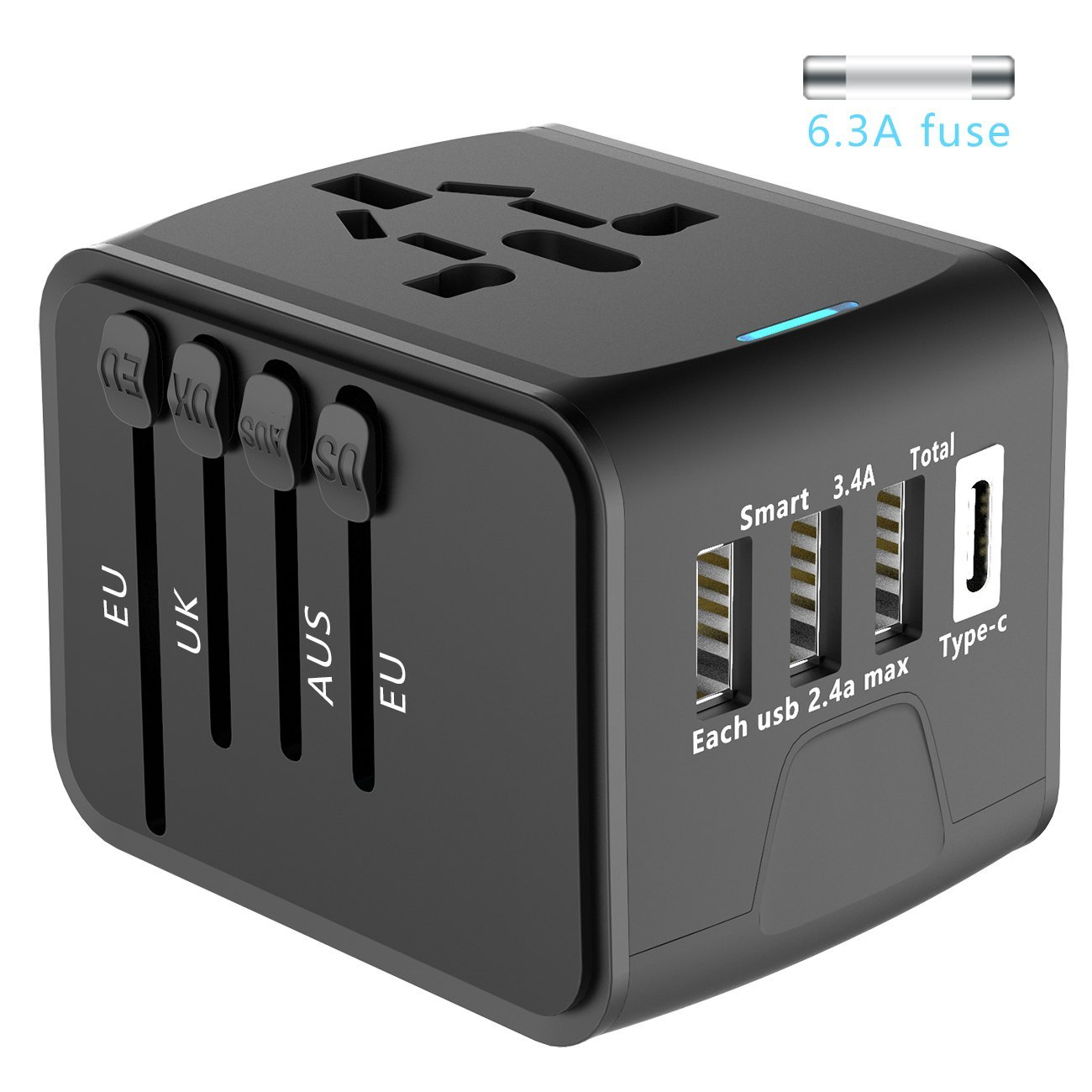 Cheap Travel Adapter With Fuse, find Travel Adapter With Fuse deals on