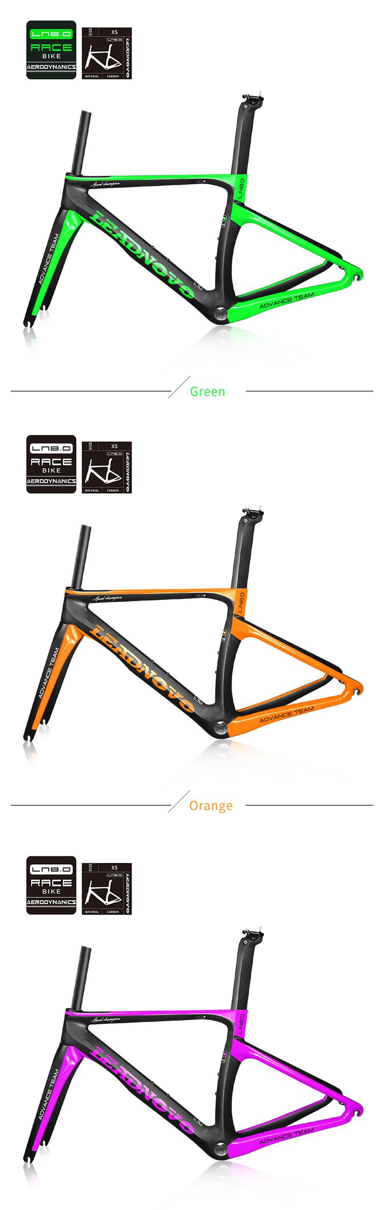 Aero Carbon Fiber Bike Frame Bicycle Frame Taiwan Carbon Bicycle ...