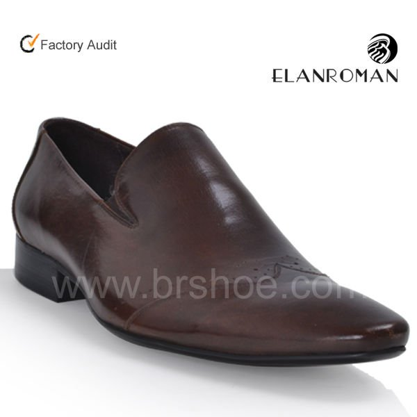 shoes Simple cow BORONG mens Classic leather men dress Italian Genuine UxwgTwz