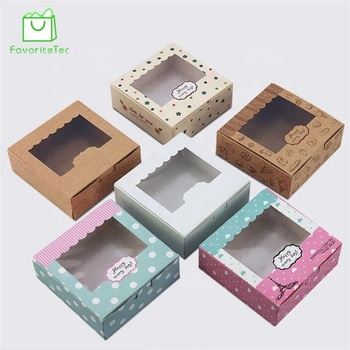 Food Packaging Boxes mini Cake Boxes Cardboard