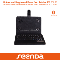universal 8 inch tablet pc case with keyboard, keyboard for 7 inch tablet