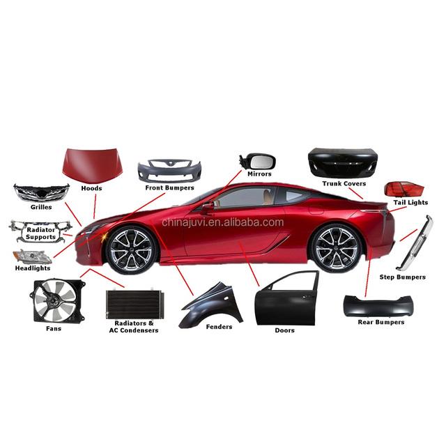 Auto car body kit spare parts accessories head Rear Fog light Bumper Grille For Renault megane 2 3 duster captur clio