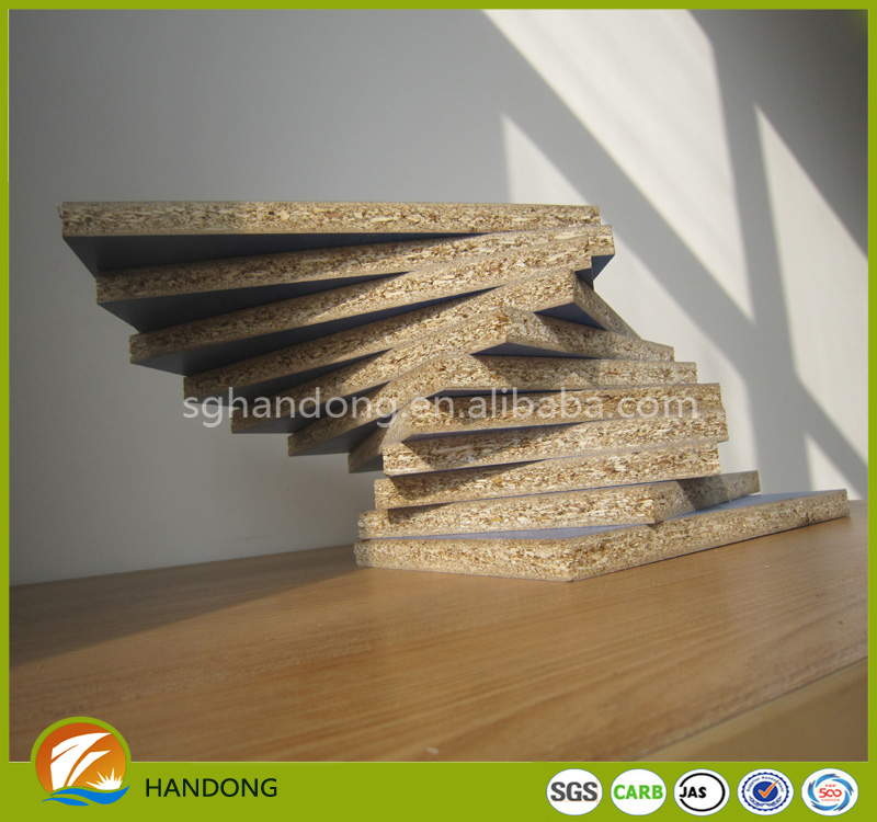 solid color/wood grain melamine laminated chipboard from HanDong Group