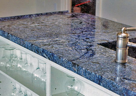 Blue Azul Bahia Granite Price Slab