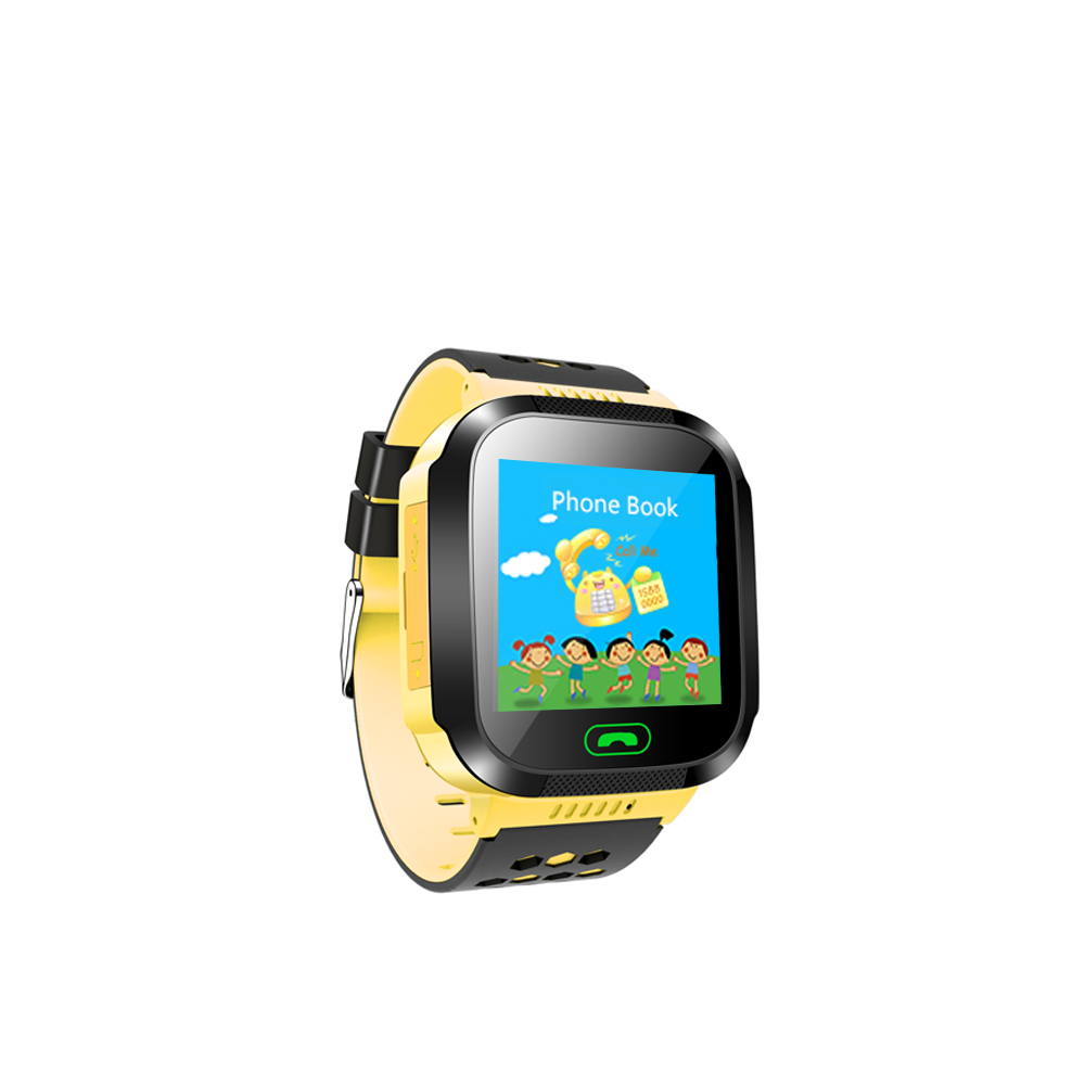 LED Digitale Smart Horloge Kind Rubber Band Sim-kaart Twee Manier Praten Kids Sport