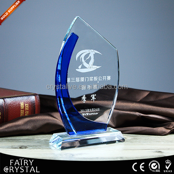 Crystal showpieces with LOGO printing