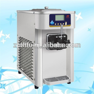 mini yogurt ice cream maker fruit slush machine/ice cream machine best price in india