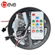 Waterproof WS2811 2812B magic dream color programmable rgb rgbw led strip with remote for Christmas decoration