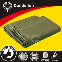 heavy duty waterproof rot-resistant canvas tarpaulin