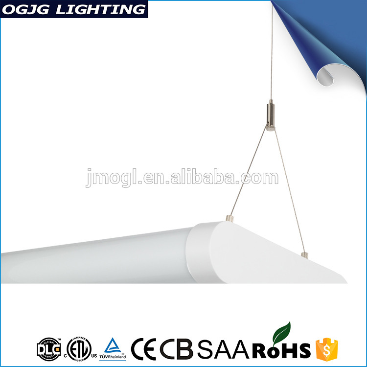 Etl Acrylic Cover hanging fluorescent light fixtures Commercial Office Pendant lighting Luminaires suspension Led Linear Light