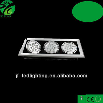 High Power Led Grille Downlight 2x26w