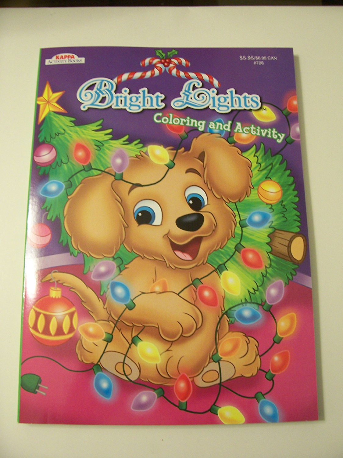 get quotations holiday jumbo coloring and activity book christmas edition bright lights puppy in christmas