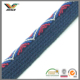 10mm fashion jacquard polyester piping cord with custom logo