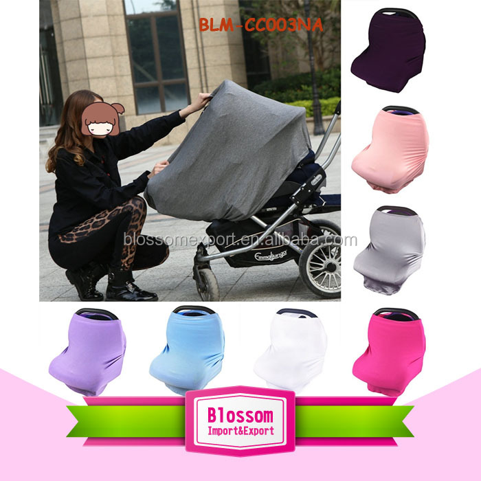 Nursing High Chair Cover Baby Car Seat Canopy Shopping Cart Cover For Baby