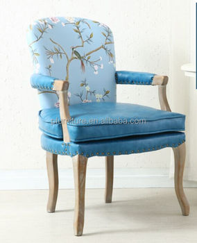 Living Room Relax Fabric Colourful Arm Chair