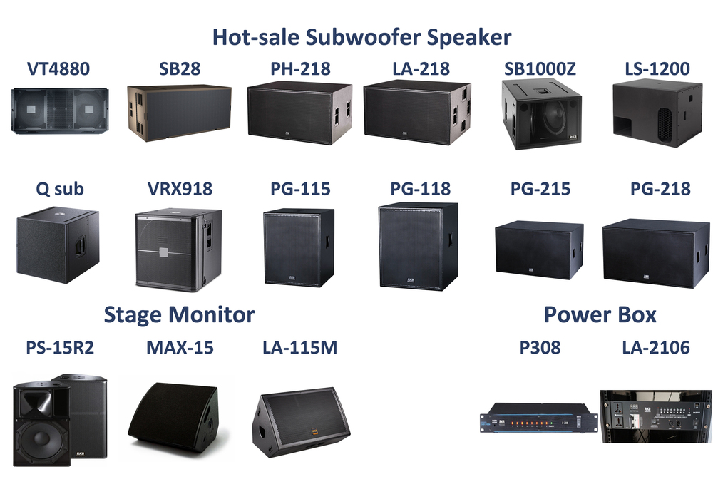Plywood line array cabinet/Empty speaker box/Unloaded speaker cabinet
