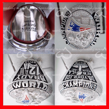 2014 NEW ENGLAND PATRIOTS CHAMPIONSHIP RING