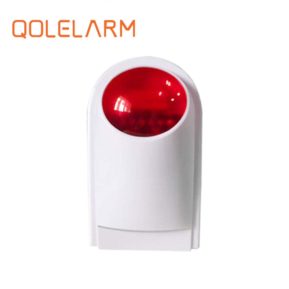 Security & Protection Rapture Dc 12v Led Flashing Lamp Security Alarm Strobe Signal Warning Light Siren Alarm Lamp