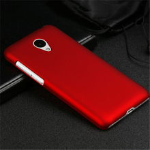 Ultrathin Frosted Case for Meizu M2 Mini Hard Plastic Cover Scratchproof Fingerprint Proof Shell Black Red White