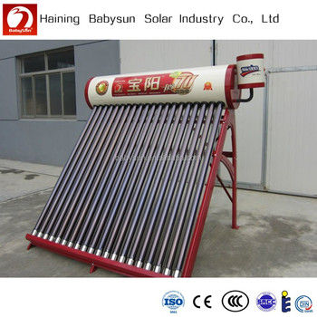 2015 China Factory Compact Non Pressure Solar Water Heater Price ...