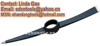 OEM orders top quality cheap forged hand tools factory P413 Steel Pick Mattock Pickaxe head