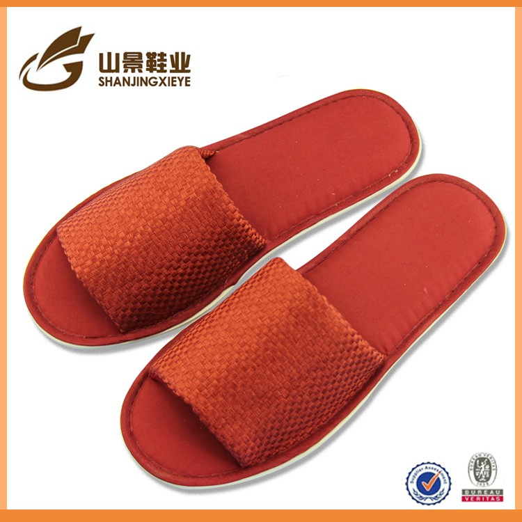 new models luxury velvet hotel slippers