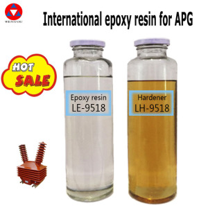 clear Liquid factory of Epoxy resin hardener for dry type and electrical insulation APG