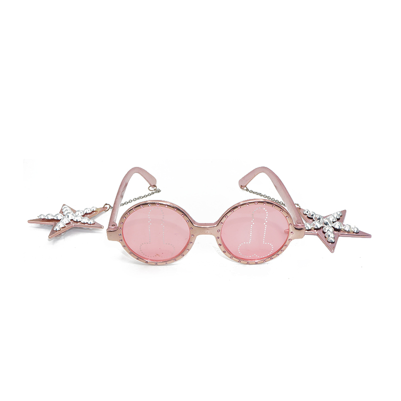 Pink Toys Event Supplies Fake Glasses For Kids