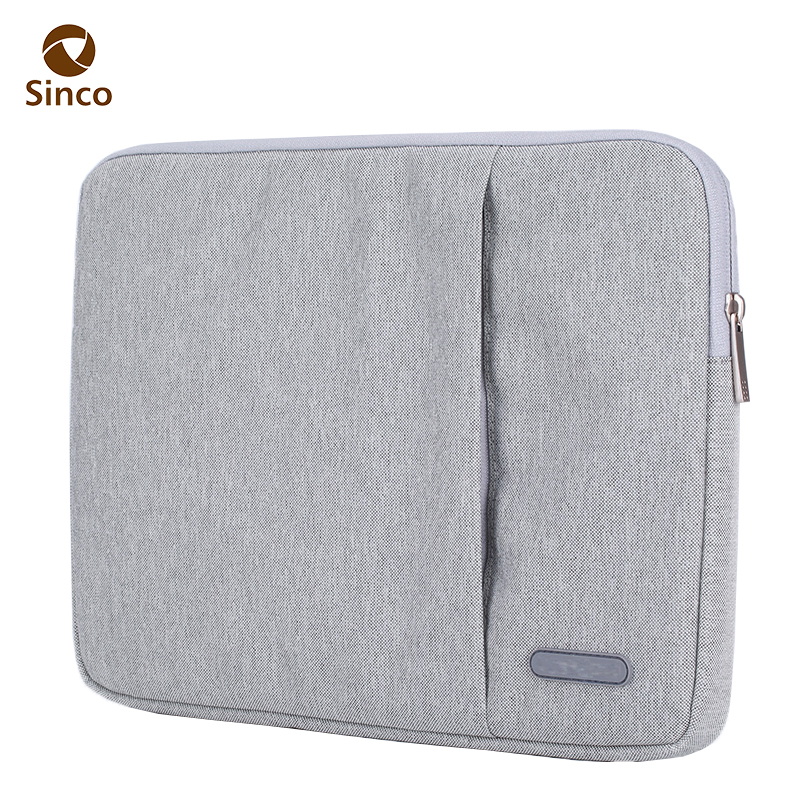 Hidden zipper 13 inch laptop sleeve bag for macbook pro 2017 sleeve