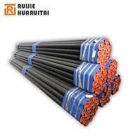ASTM A53 Seamless steel tube DN 100 black round pipe thick wall seamless pipe API 5 L standard