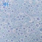 Wholesale Mulberry Silk Fabric Digital Printed Crinkle Chiffon in Floral Design