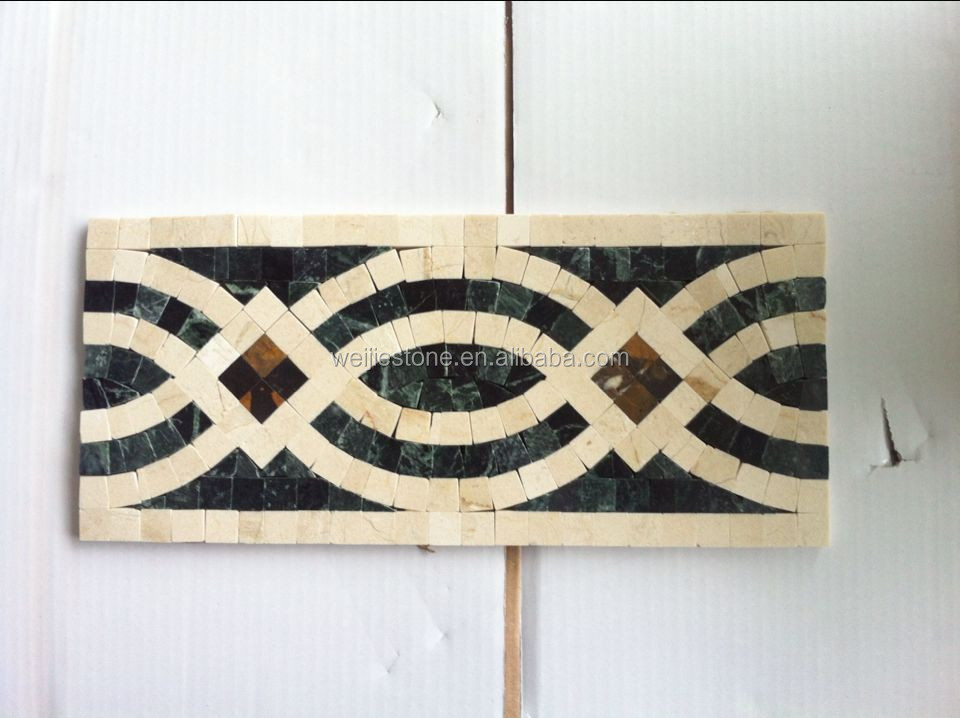 Dark Blue Floor Tiles,Border Designs Mosaic Tile - Buy Dark Blue ...
