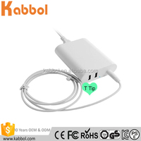 Computer Charger for macbook pro 60W 16.5V 3.65A power adapter