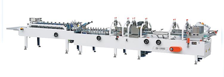 ZH-1000G scatola di Cartone cartella di guer funzionamento facile di cartone pieghevole macchina