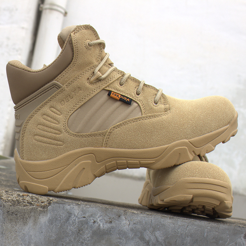 wholesale outdoor hiking delta desert shoes trekking combat commando climbing military boots