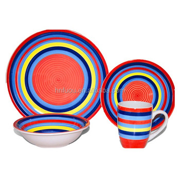 Dinnerware sets storage luxury ceramic concrete stoneware dinner set