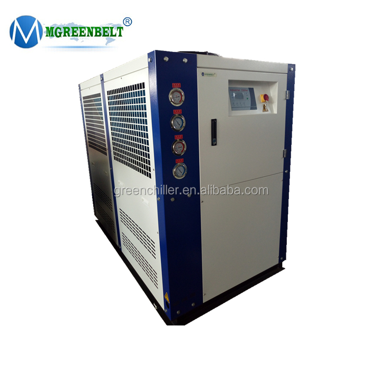High quality brewery use fan cooling water cooled glycol chiller 5 ton chiller