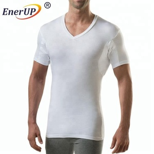 new style high quality and fashion custom made 100% cotton men anti sweat t shirts