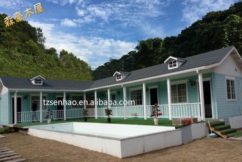 Supplier Modern Russian Pine Prefabricated Wooden House Price/wooden Homes/wood  Log Cabins/