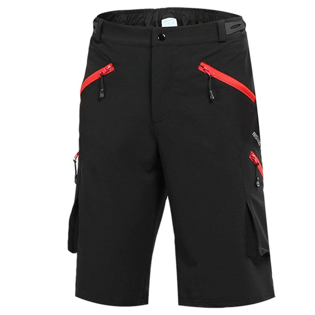 mansmoer Men's Cycling Quick Dry Outdoor Shorts Cargo Sports Camping Shorts