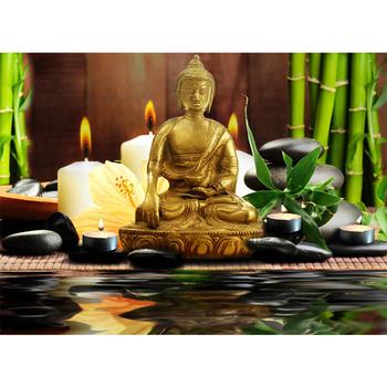 ce gecertificeerd laatste acryl boeddha schilderij met led licht voor vakantie gift goedkope china fabriek groothandel